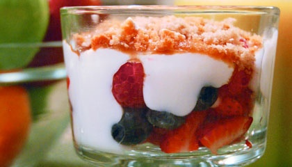 Berry Brûlée | recipes | Pinterest