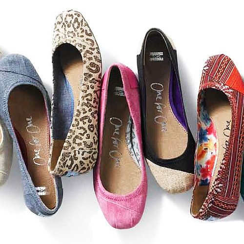 Toms Introduces Cute Ballet Flats For Spring '12 -  I want pink