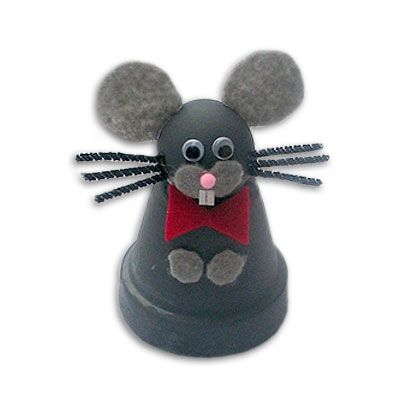 Clay Pot Rat