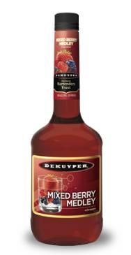 DeKuyper Mixed Berry Medley Schnapps | Wet Bar Ideas | Pinterest