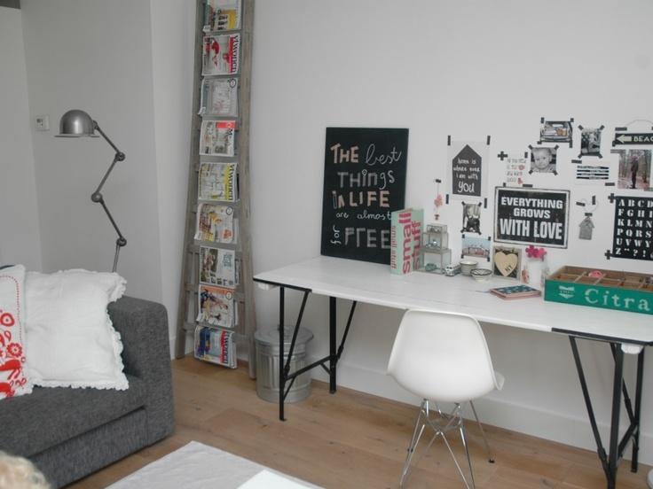 Stoere woonkamer  stoer  Pinterest
