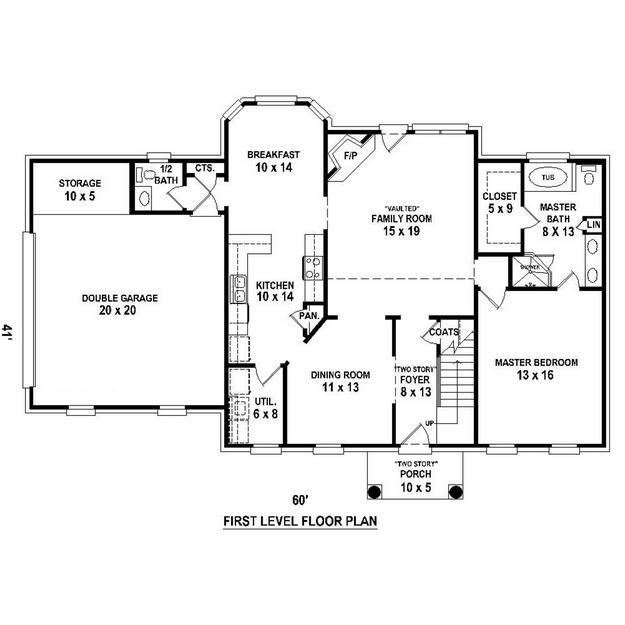 Floor Plan Foyer Floor Plans Pinterest