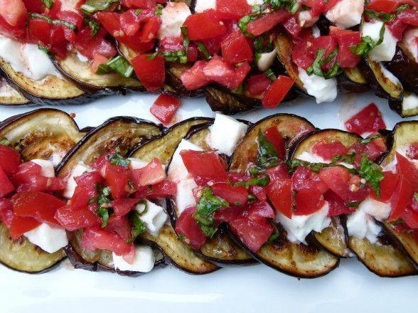 Eggplant Caprese, Tomatoes from Big Train, Fresh Mozzarella from ...