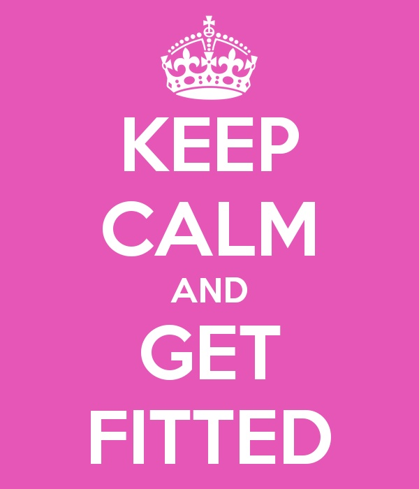 Did you know that 80% of women are wearing the wrong bra size?  Wearing the right size bra can make a huge difference in the way you look and feel! So... KEEP CALM AND GET FITTED! #keep #calm #shopbloomers