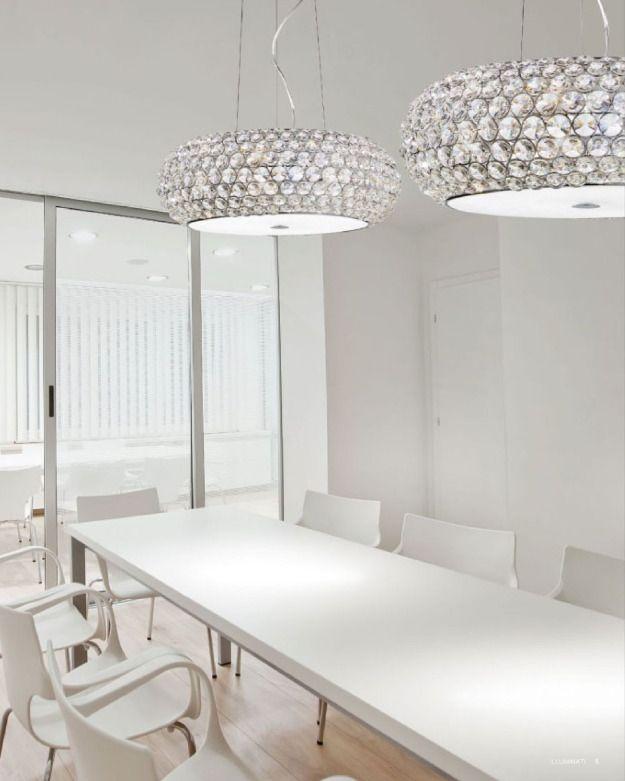 lampadari, Interior design Pinterest