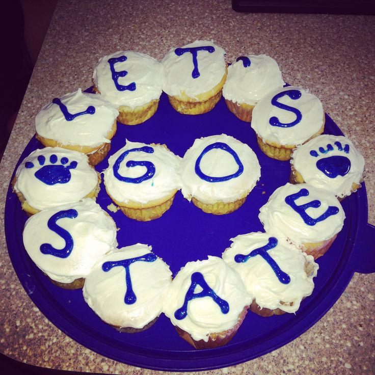 Tailgate Cupcakes Recipe — Dishmaps