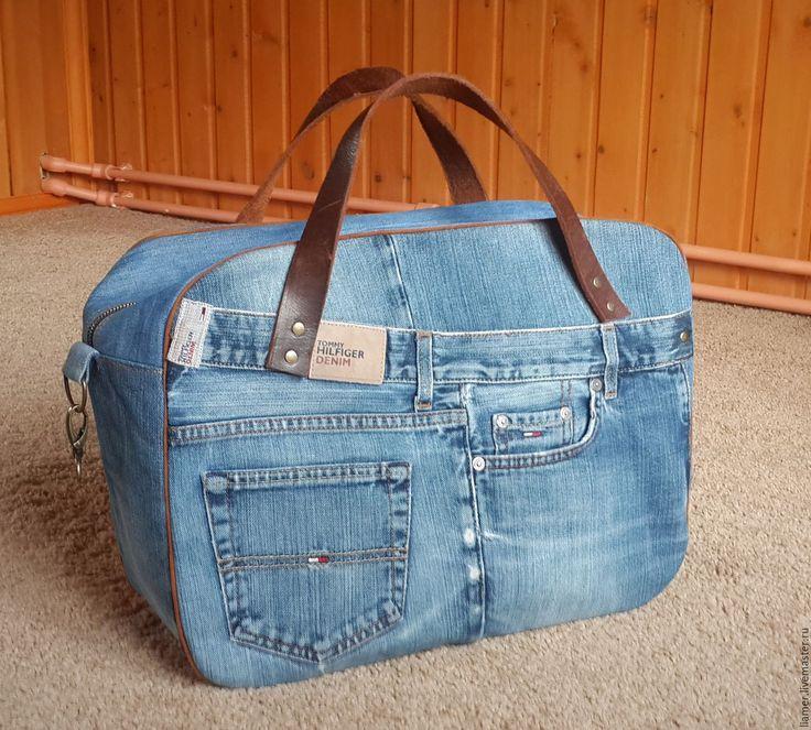 Дорожные сумки из джинсов своими руками 281