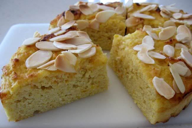 Almond cake recipe! | Sweet and... | Pinterest