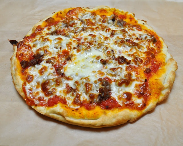 Sausage, Arugula, And Parsley Pizza Recipe — Dishmaps