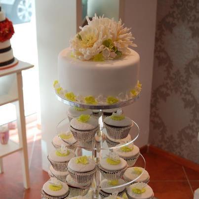 Hochzeitstorte cupcakes  home sweet home  Pinterest