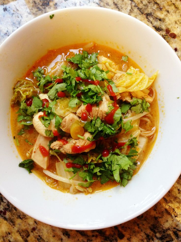 Chinese Chicken Noodle Soup | Food | Pinterest