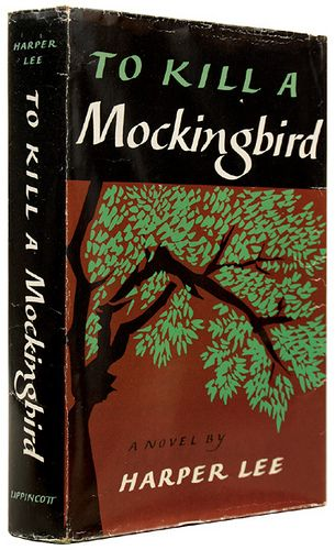 Harper Lee 'To Kill a Mockingbird' --one of my all-time favorite books!