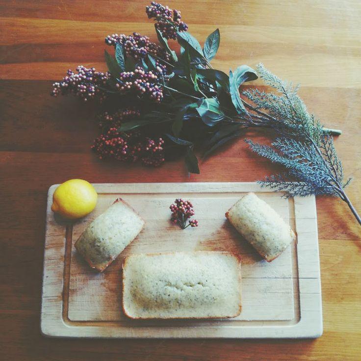 lemon + almond poppy seed loaf | Cake-a-Rama | Pinterest