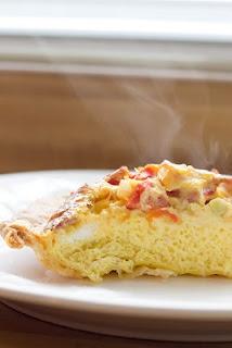Bacon, Cheddar and Tomato Quiche | Favorite Recipes | Pinterest
