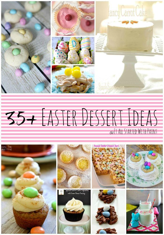 Easter dessert ideas recipes for Dessert for easter dinner