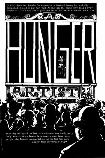 franz kafka a hunger artist essay