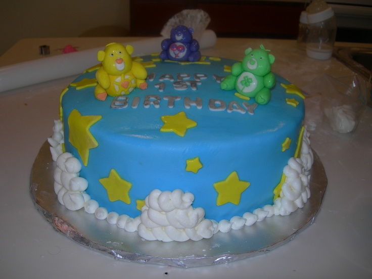 Care Bears Pop Cakes Ideas 52958 Care Bear Birthday Cake B