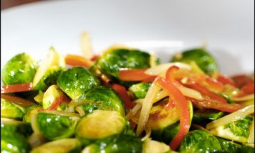 Maple-Glazed Brussels Sprouts | Recipe
