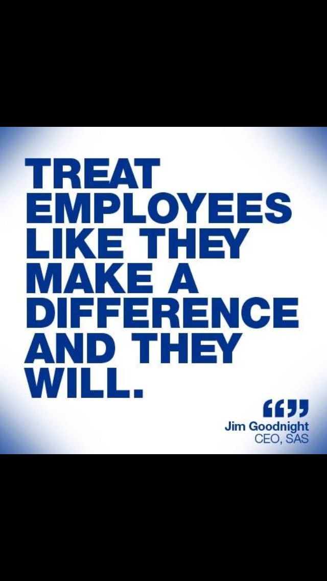 jim goodnight Goodnight on respect treat employees like they make a difference and they will  jim goodnight, sas ceo disraeli on taking charge.