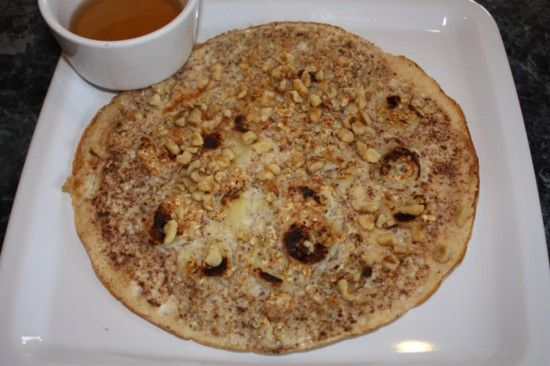 Banana Nut Pancake...this sounds awesome and this whole recipe is only ...