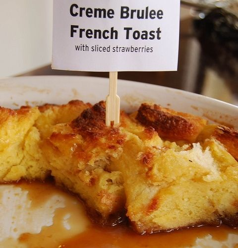 creme brulee french toast | breakfast | Pinterest