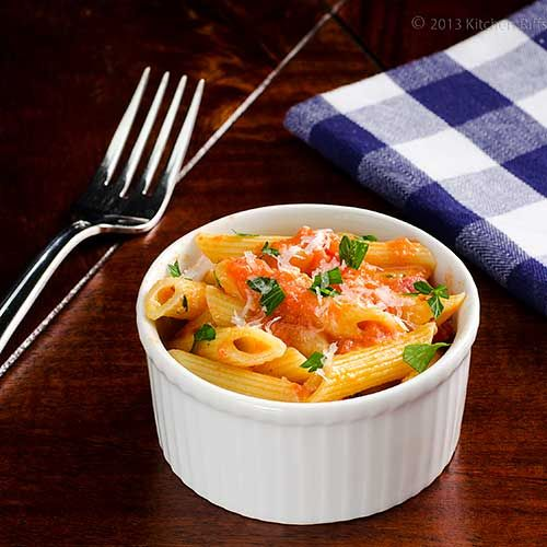 Penne alla Vodka | Pasta! | Pinterest