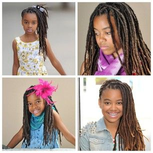 12 darling loc hairstyles for girls  mommynoire