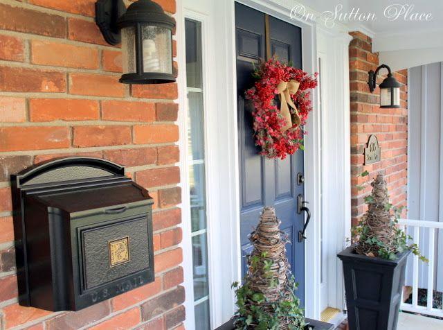 valentine's day porch decor