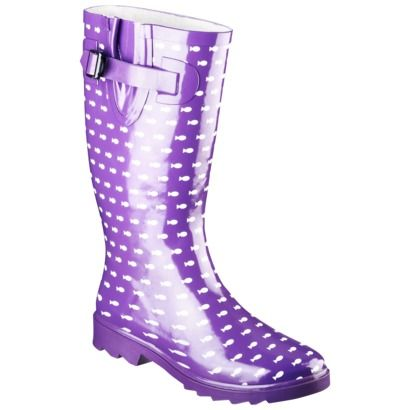 Model A Womens Rain Boot With A Classic Finish Perfects A Puddleproof Rubber Boot Equipped With A Tractiongripping Sole Sophisticated, But Subtle Adjustable Buckles At The Side Of This Classic Waterproof Rain Boot Adds Interest