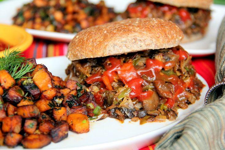 Roasted vegetable Sloppy Joes - vegan | Food Inspiration - Savory | P ...
