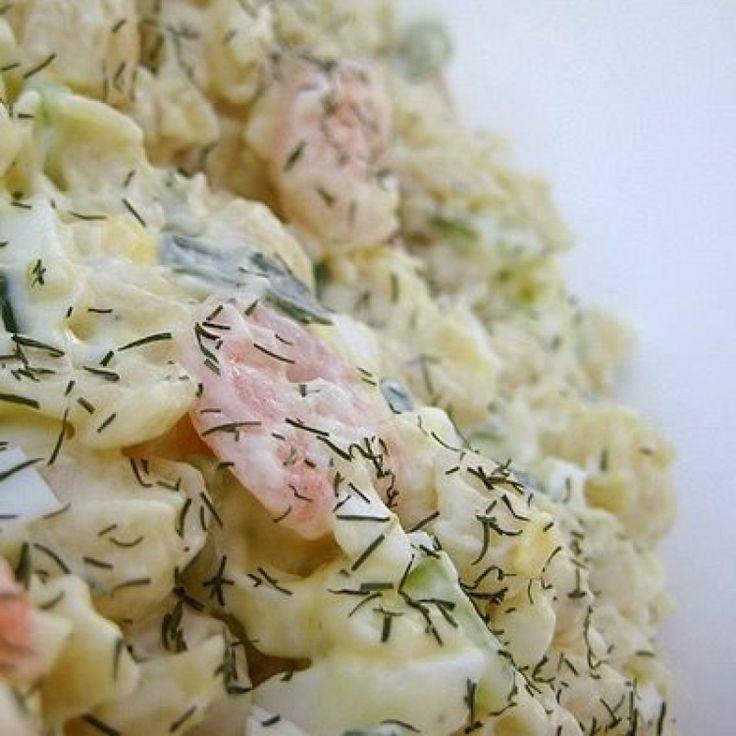 Shrimp Pasta Salad with Dill   Fresh   Pinterest