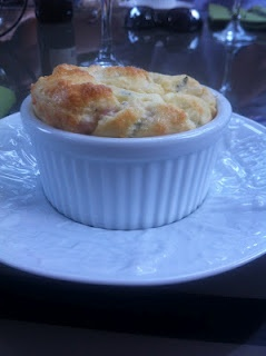 Goat Cheese and Herb Souffle   Fabolous foods   Pinterest