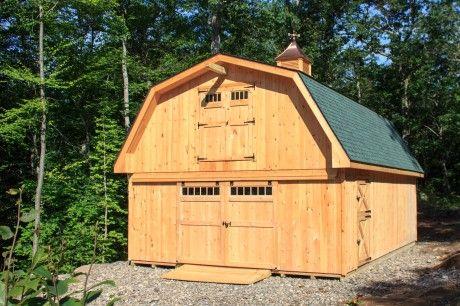 20 39 X 30 39 Gambrel Garage With Loft Maine Pinterest