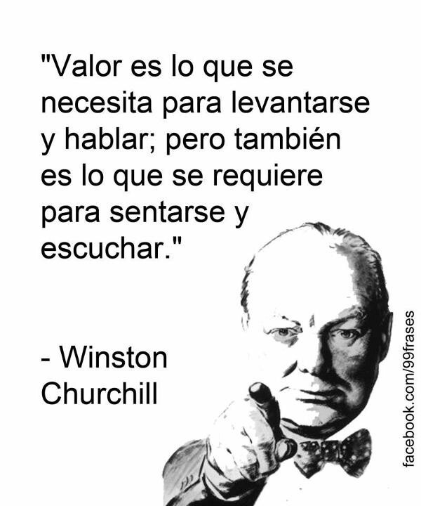 Winston Churchill Quote About Lies