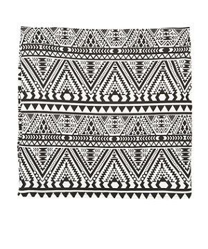 Black Pattern (Black) Teens Black Aztec Print Tube ...   Grunge Cloth ...