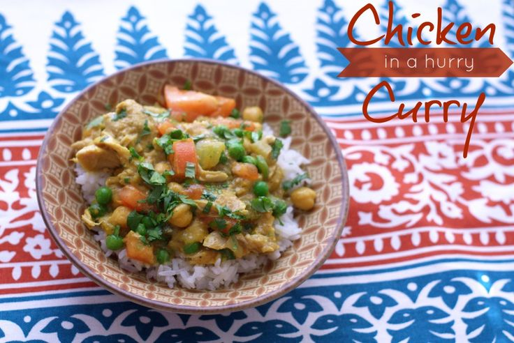 chicken curry, curry, slow cooker curry, crockpot curry, chickpea cur ...