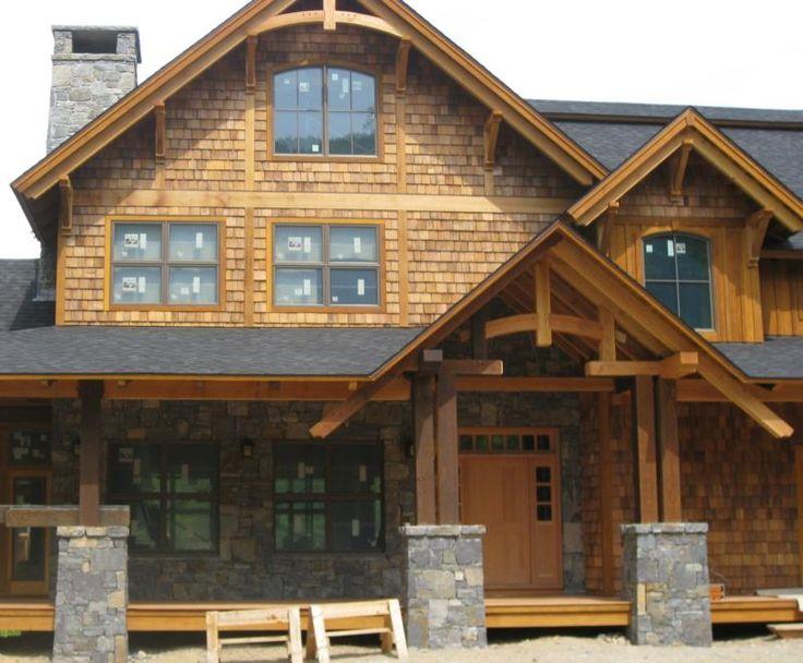 porch with stone columns barn pinterest