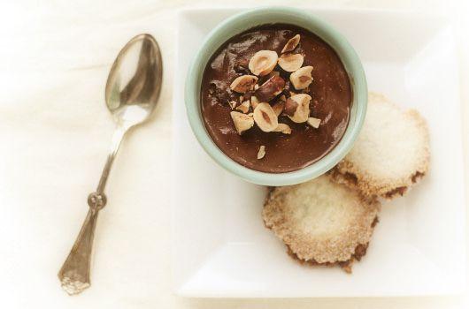 chocolate hazelnut panna cotta | Keeps Tummy Happy | Pinterest
