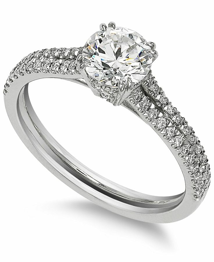 ... Engagement Ring (1 ct. t.w.) - Diamonds - Jewelry  Watches - Macy's