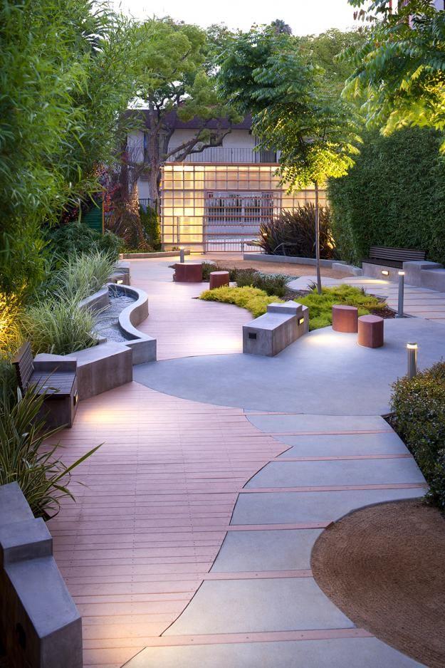 Formosa pocket park by katherine spitz landscape pinterest for Trendy garden designs