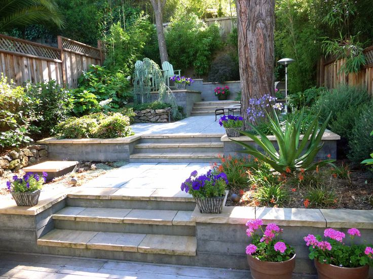 terraced landscaping  Google Search