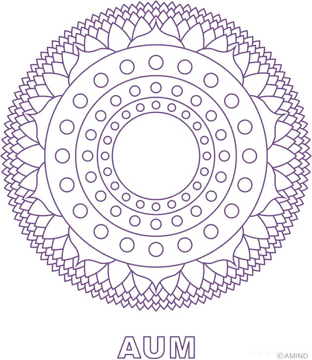 Chakra designs the image kid has it for Chakra mandala coloring pages