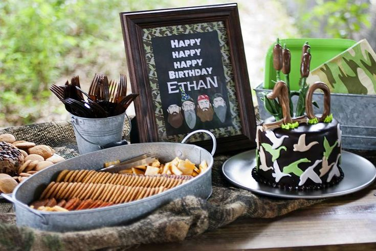 Duck Dynasty Birthday Party Ideas | Photo 1 of 14 | Catch My Party