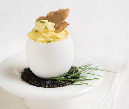 White Truffle Scrambled Eggs Recipe House Home Photo White Truffle ...