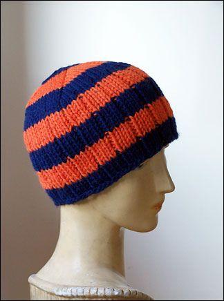 rib knit hat free pattern