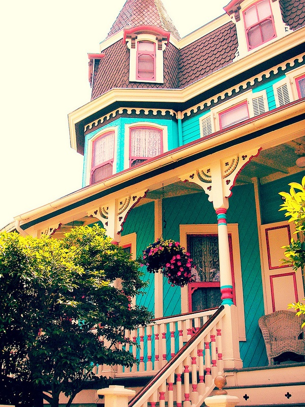 Painted Lady Of Cape May By Lisa Kettell Painted Ladies