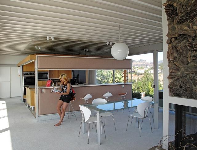 Stahl House Kitchen Pinterest