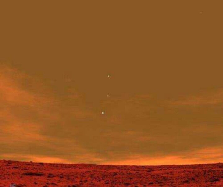 View of Jupiter From Mars - Pics about space