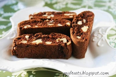 Double Chocolate Walnut Biscotti | Cookies and Biscotti | Pinterest