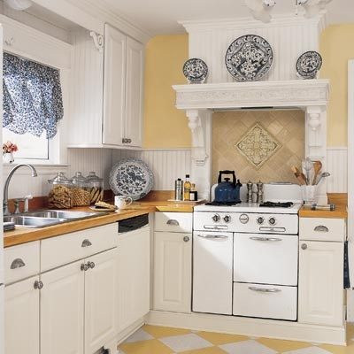 Blue White And Yellow Kitchen Things I 39 D Like To Do In